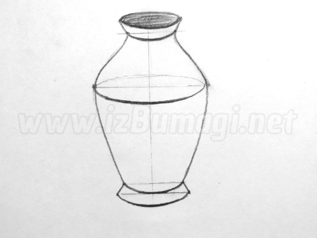 рисунки вазы фото