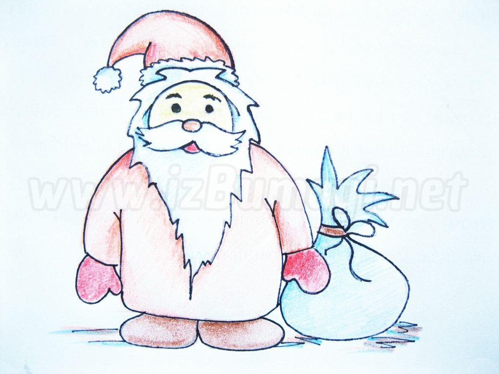 Рисунок для деда мороза своими руками 26
